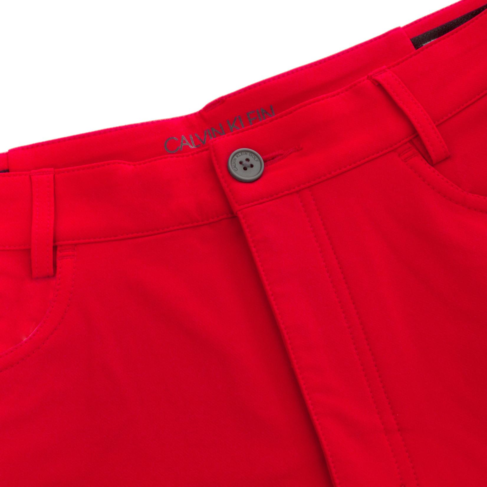 Calvin Klein Calvin Klein Genius 4-Way Stretch Short POWER RED