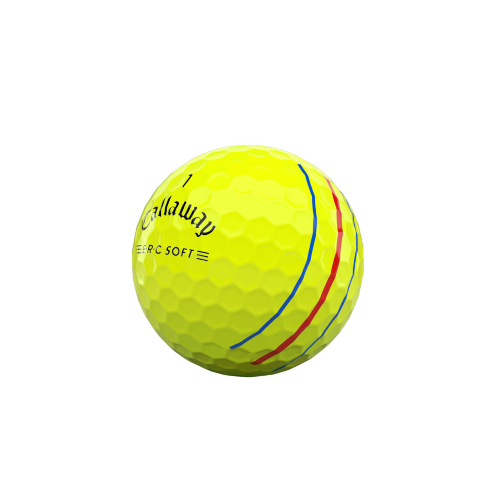 Callaway Callaway ERC Soft'21 Triple Track Yellow