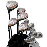 Founders Club Founders Club RTP complete set Black/Red Carrybag - Mens LH graphite