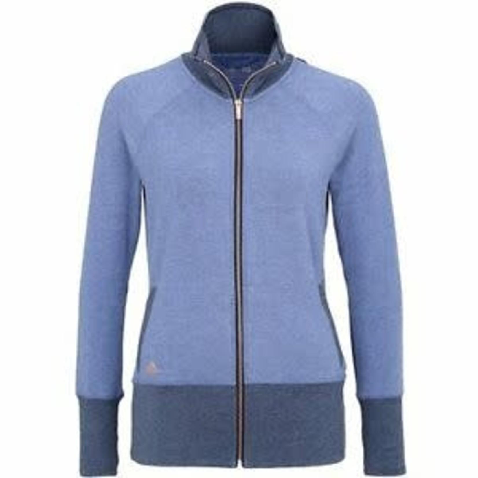 Adidas Adidas W Rib-Knit Jkt blue L