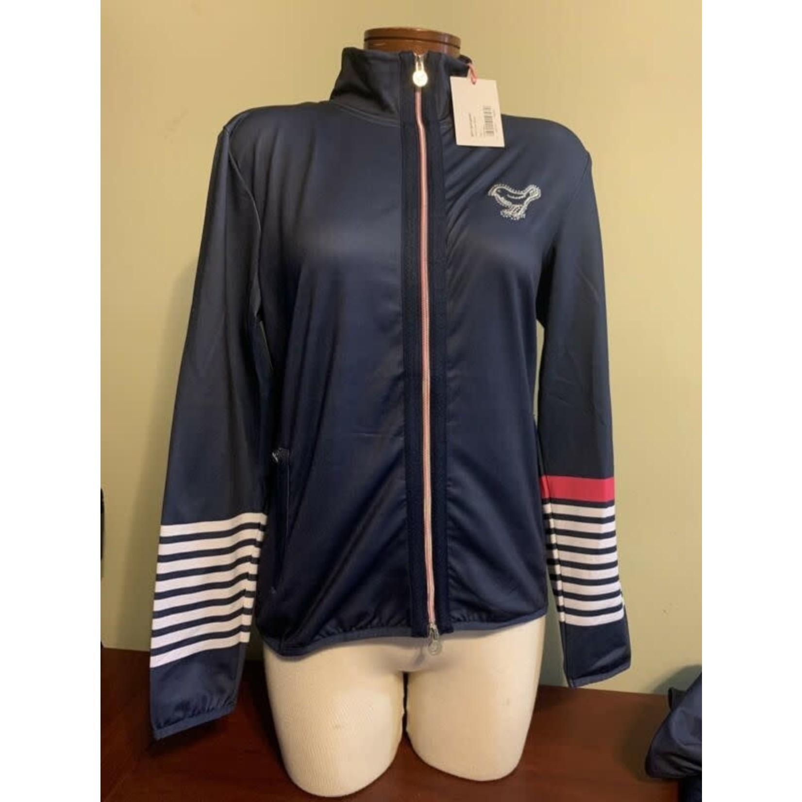 Girls Golf Girls Golf Love Stripes dark blue