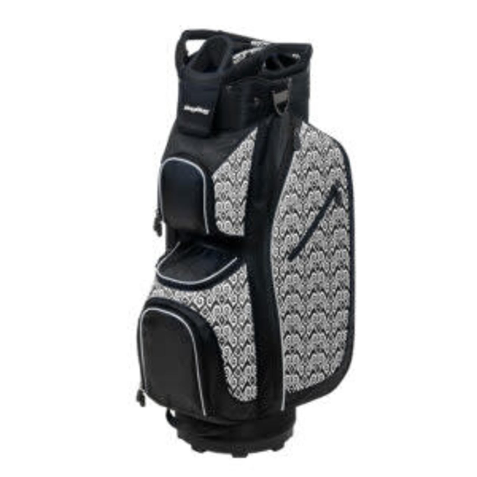 BagBoy Bagboy LDX Plus Cartbag Black/White/Celtic arrows