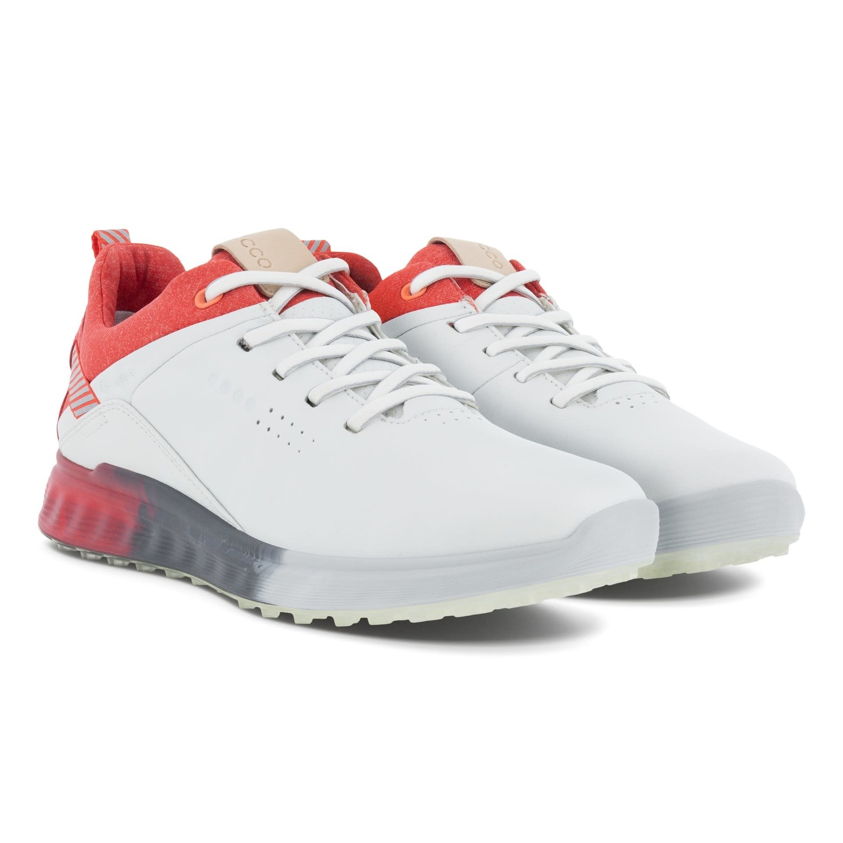 Ecco Ecco W Golf S-Three White/Hibiscus