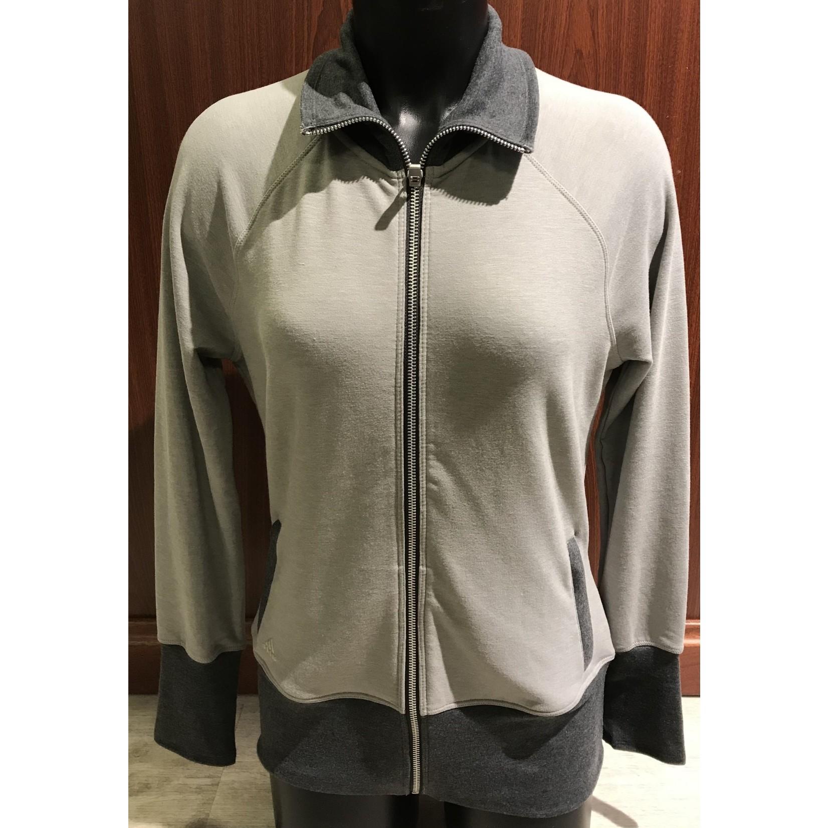 Adidas Adidas W Rib-Knit Jkt grey