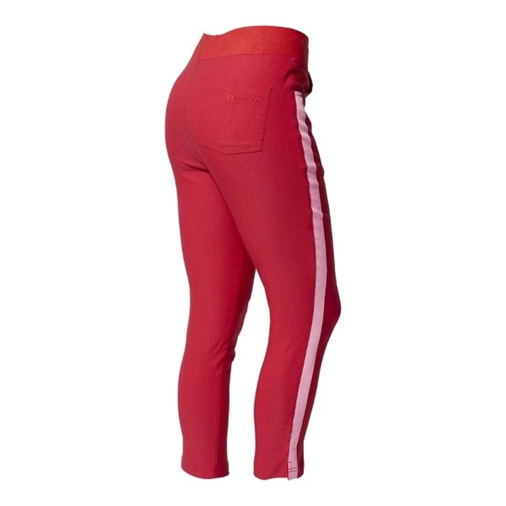 Backtee Backtee Ladies Contrast Striped Trousers