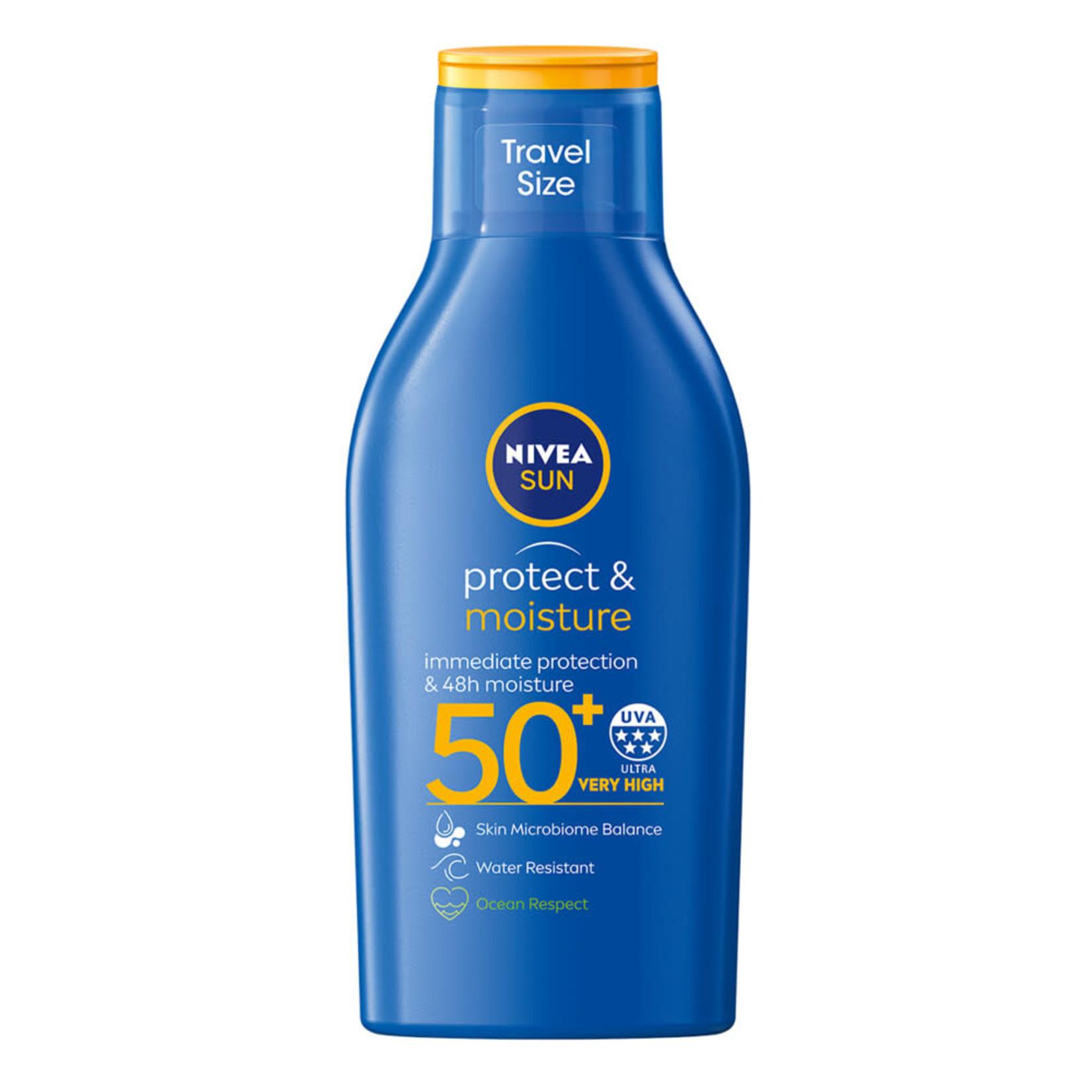 nivea NIVEA SUN Zonnebrand - Travel Size - SPF 50 - 100 ml