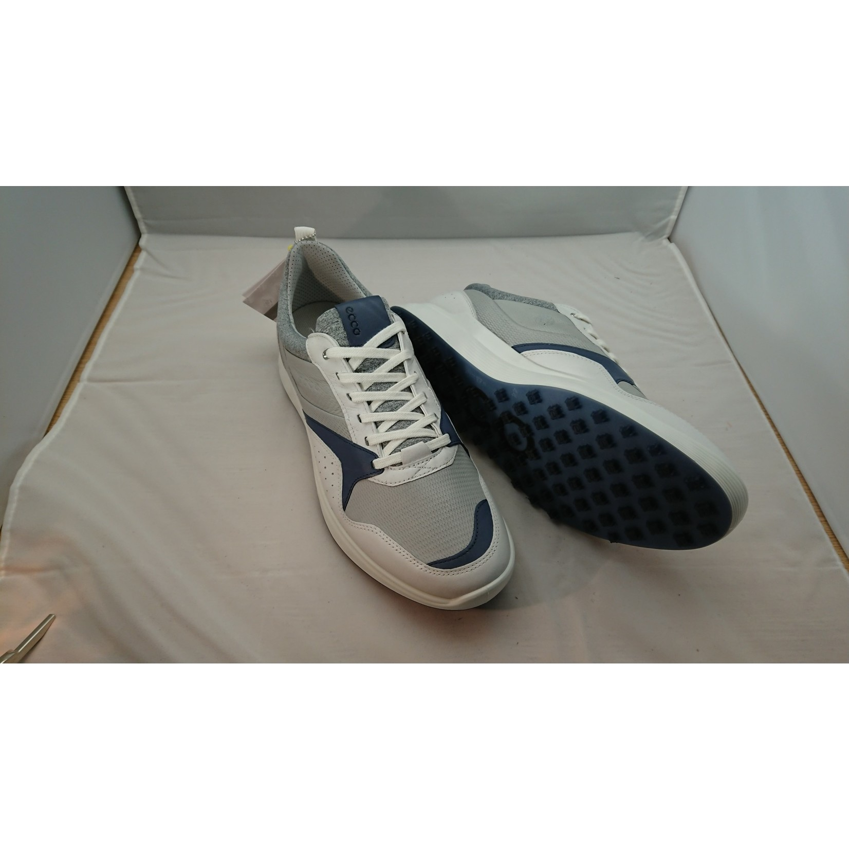 Ecco Ecco M Golf S-Casual Wit/Blauw 44