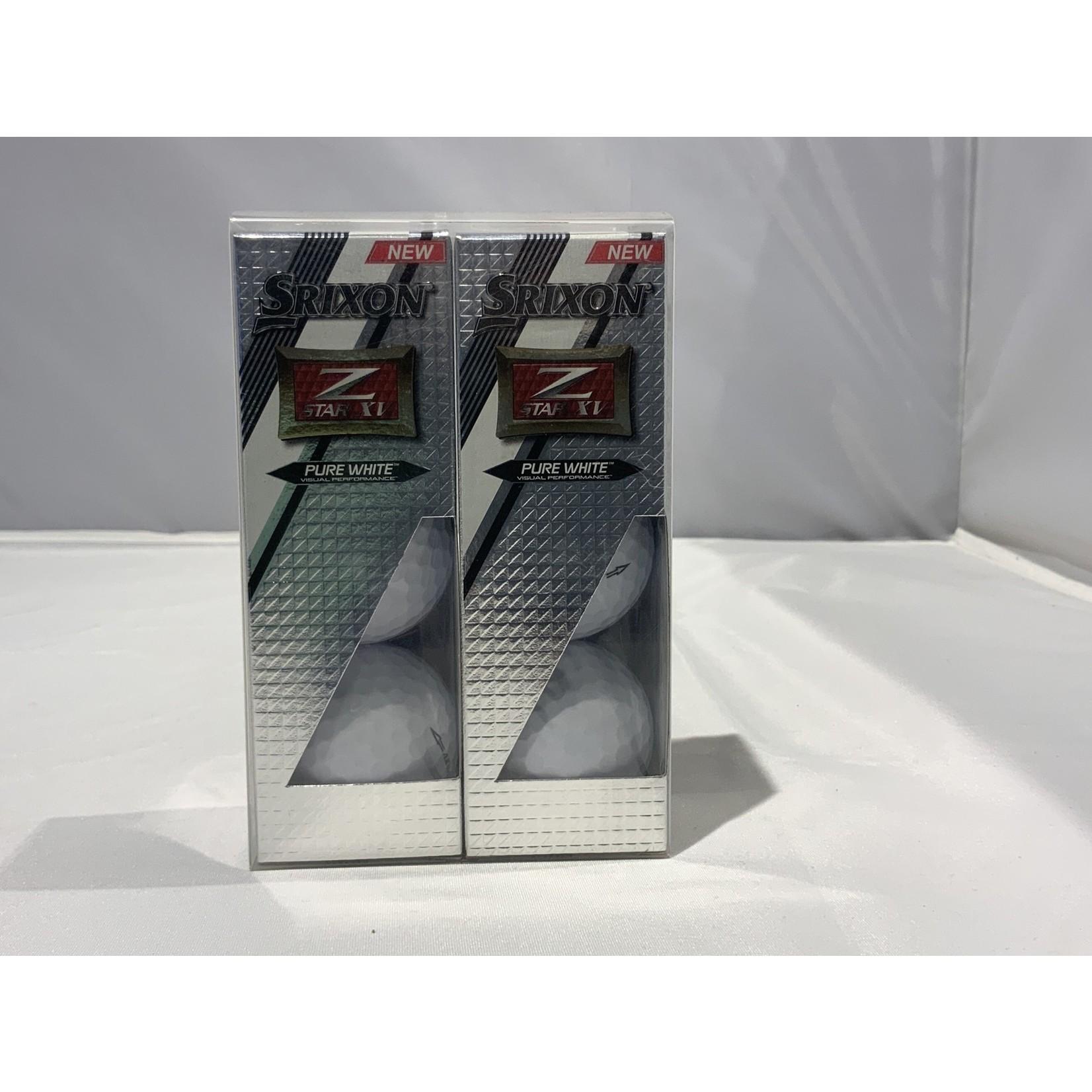 Srixon Srixon 6 pack Z-star XV