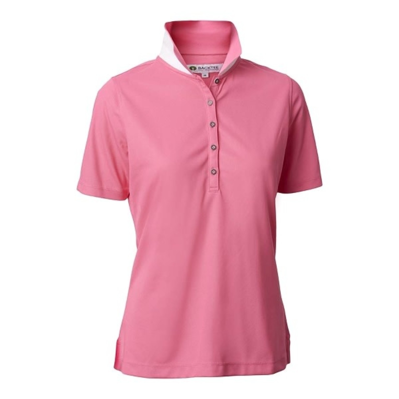 Backtee Backtee Ladies Quick Dry Performace Polo 2XL ROZE