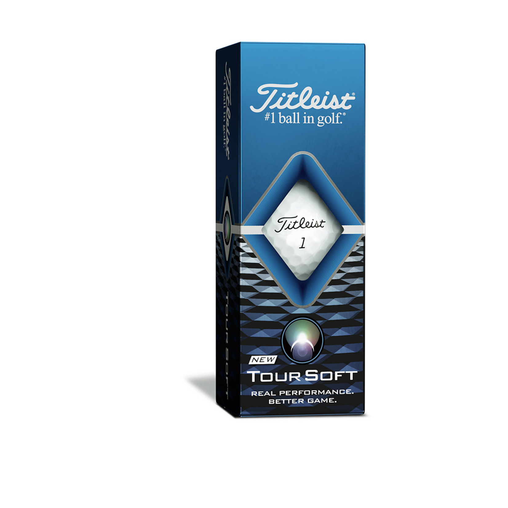 Titleist Titleist Tour Soft White sleeve (3 balls)