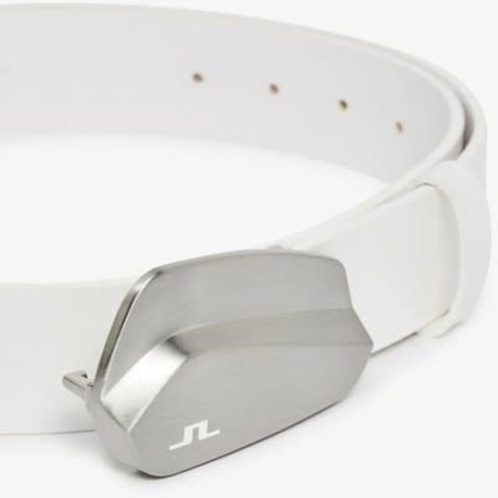 J.Lindeberg J.Lindeberg Golf Club Belt-White Leather White 110