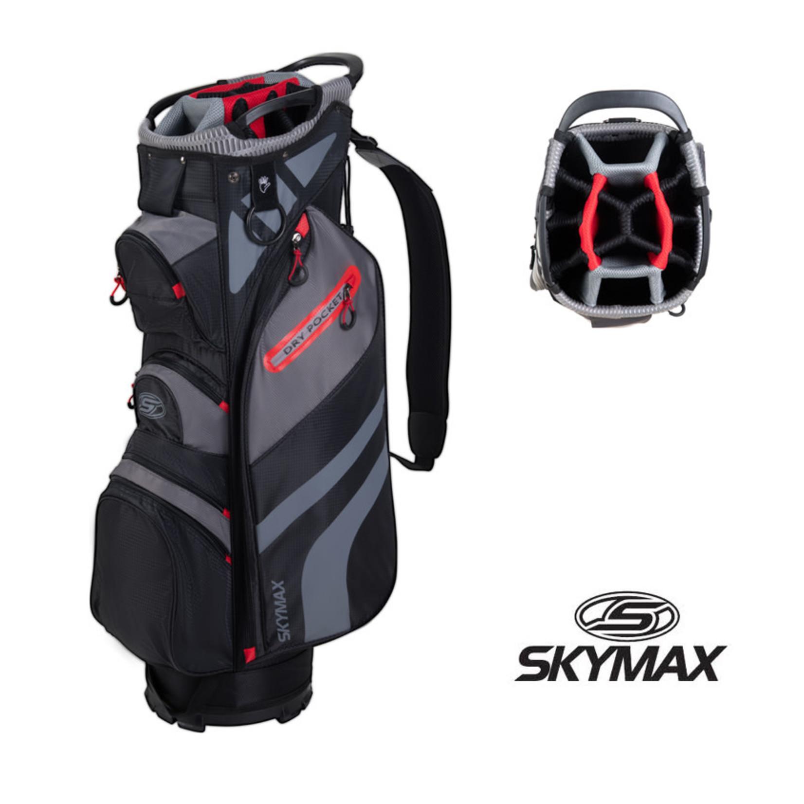 Skymax Skymax S1 heren GRAPHITE complete set - met golftas