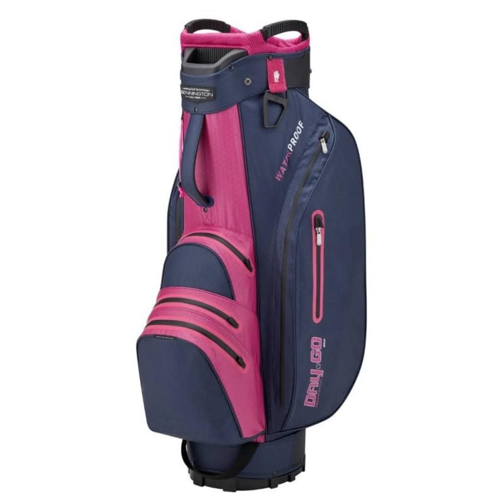 Bennington Bennington Dry GO DB Cartbag Navy/Purple/Pink