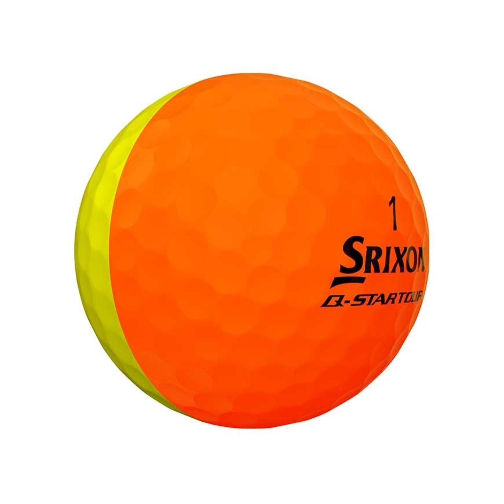 Srixon Srixon Q-star Tour Divide Yellow/Orange