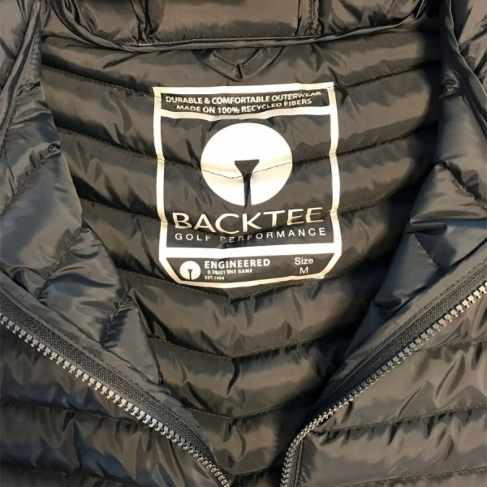 Backtee BackTee Ladies Recycled Panel Jacket