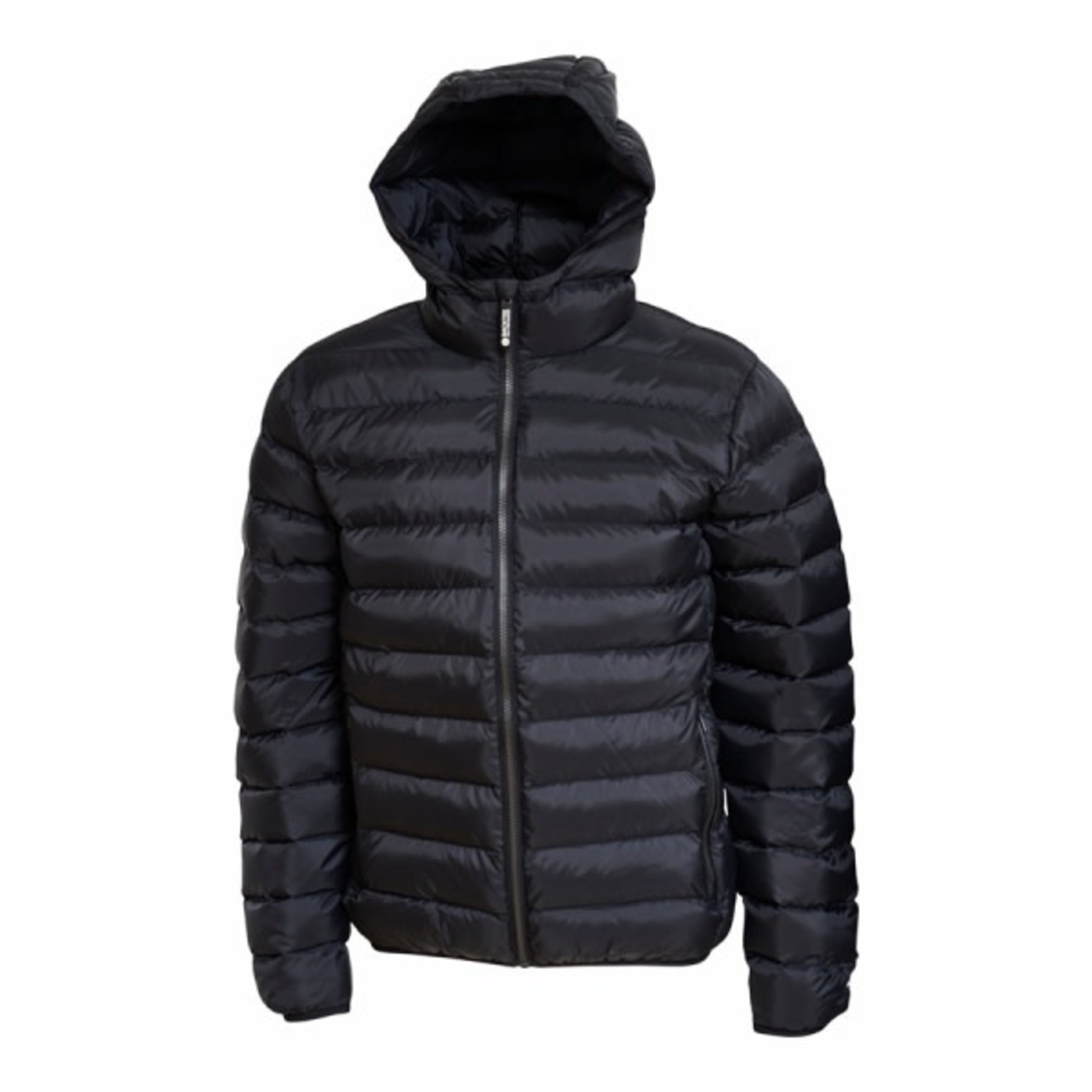 Backtee Backtee Mens Recycled Panel Jacket Black