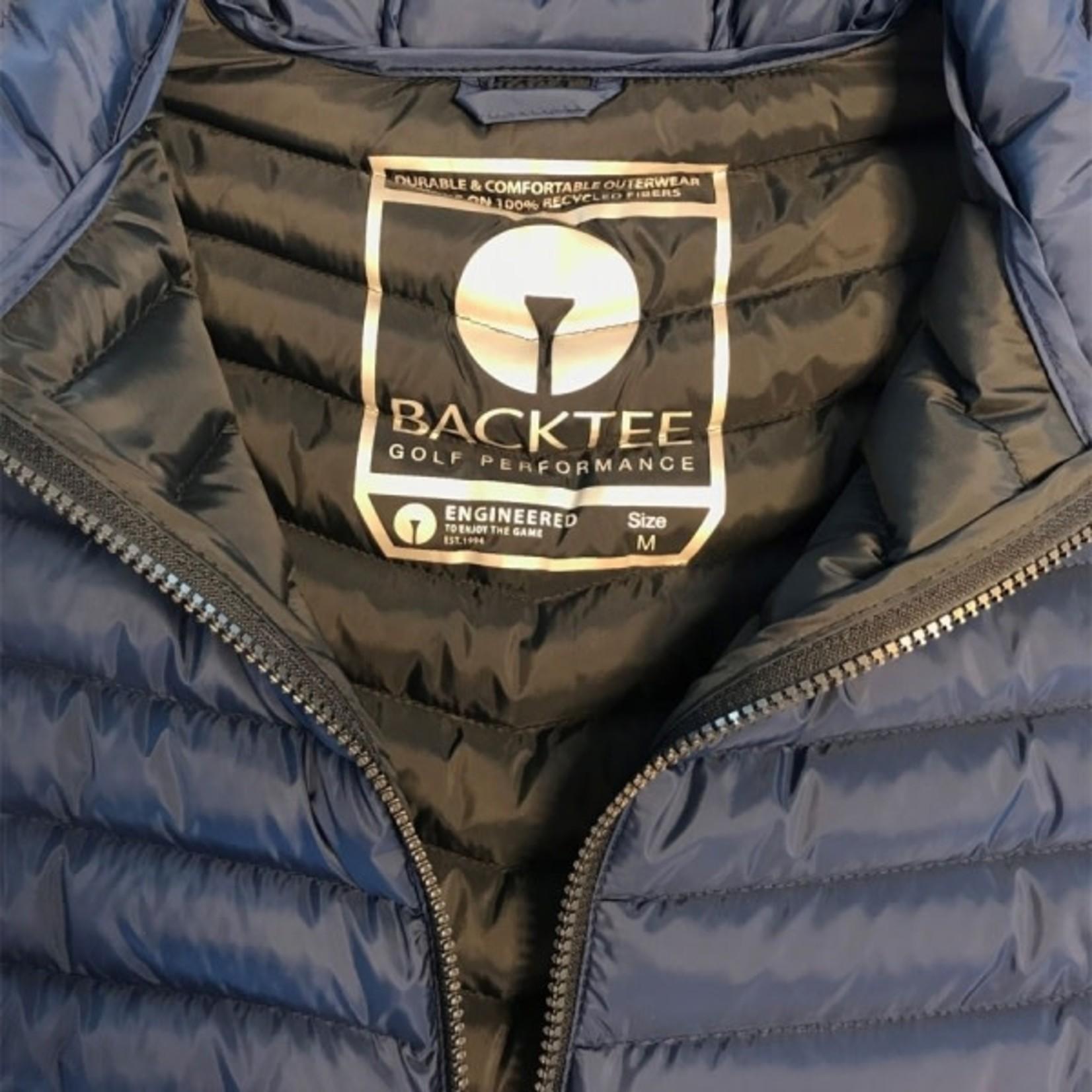 Backtee BackTee Ladies Recycled Panel Bodywarmer / Gilet Navy