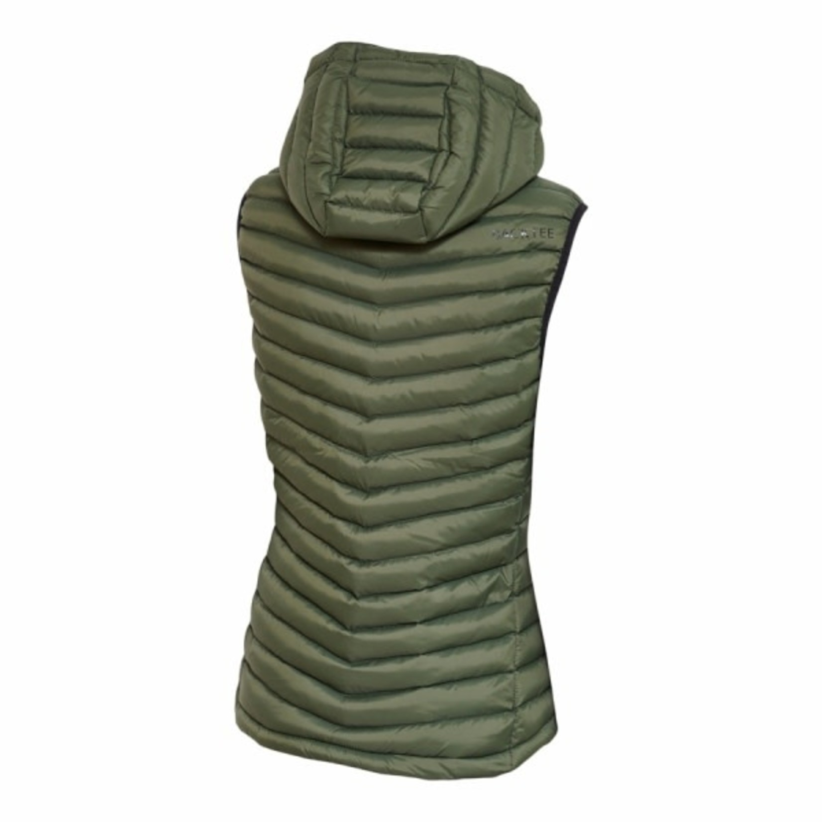 Backtee BackTee Ladies Recycled Panel Bodywarmer / Gilet Beetle (Green)