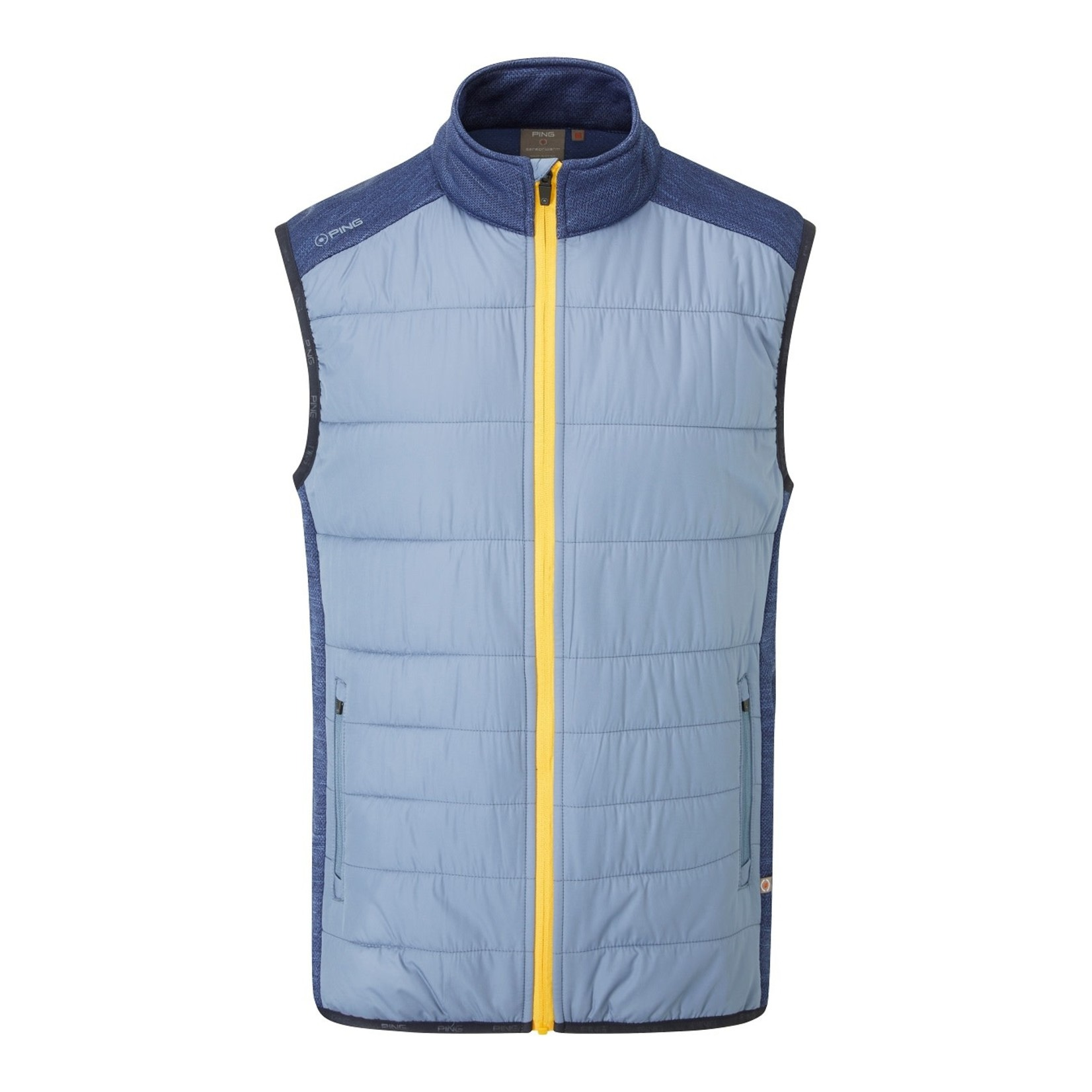 Ping Ping Dover Vest - Greystone/Oxford Blue
