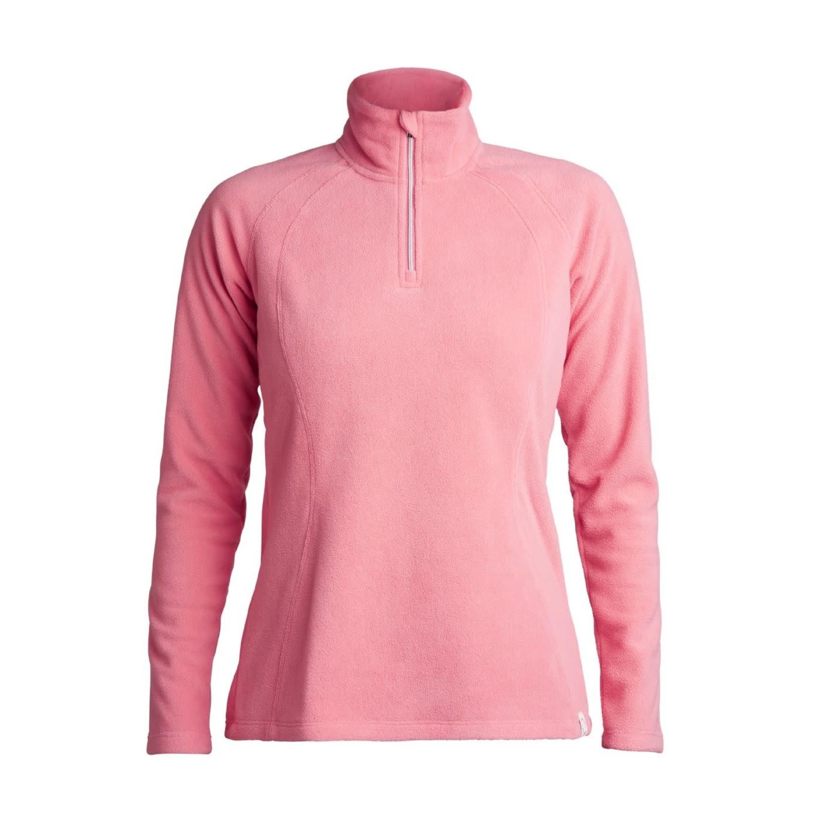 Rohnisch Rohnisch Amy Fleece Half Zip - Dolce Pink