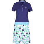 Girls Golf Girls Golf Dress polka dot blue polka dot blue XXL