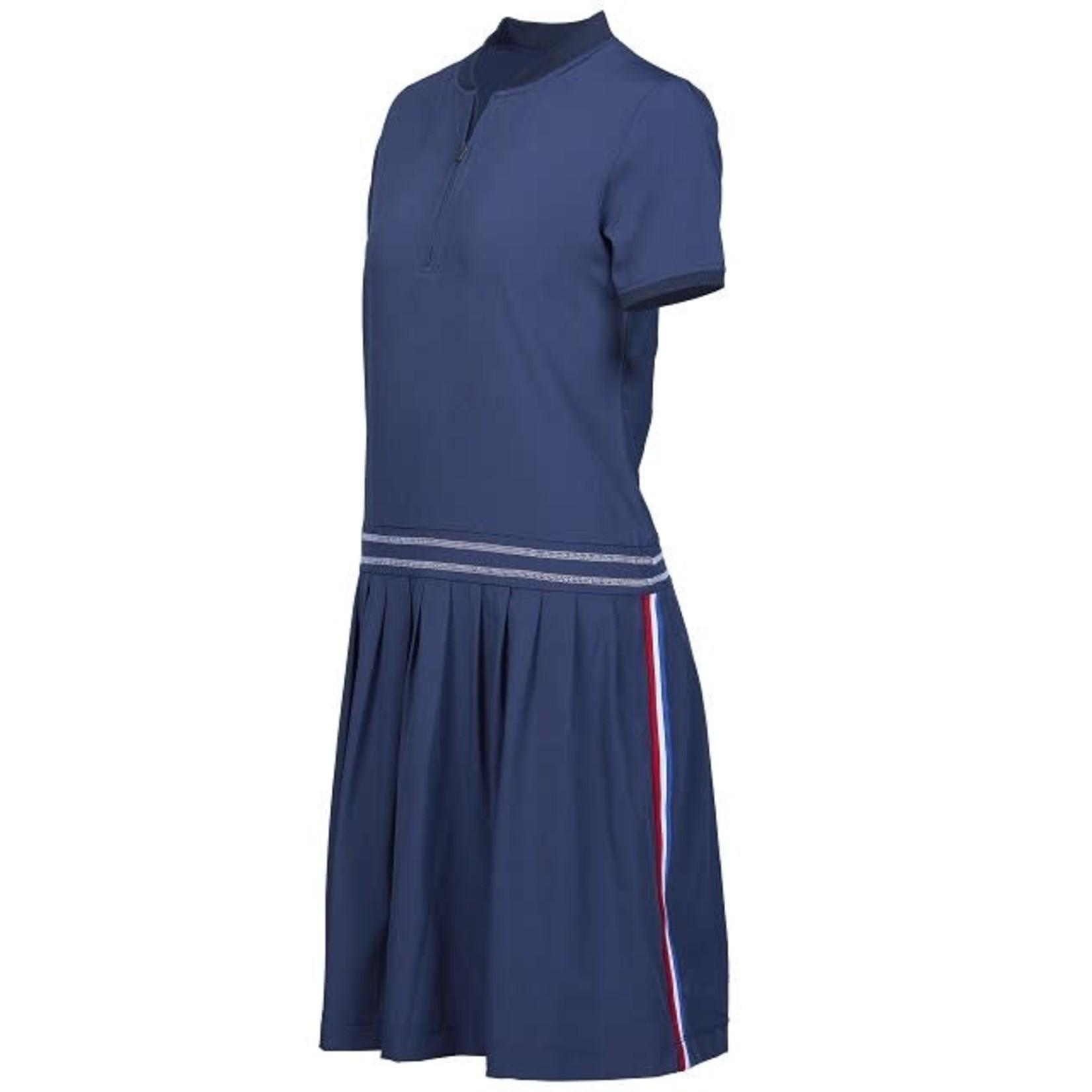 Girls Golf Girls Golf Polo Dress - Navy Techy 2XL