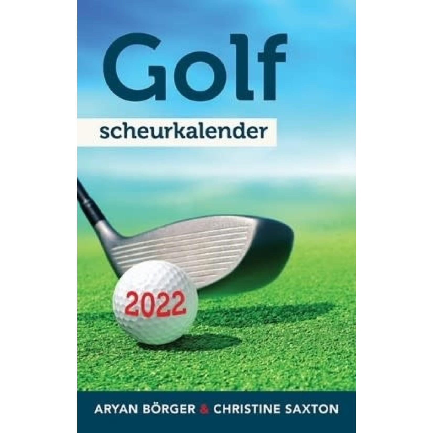 Golf Scheurkalender 2022
