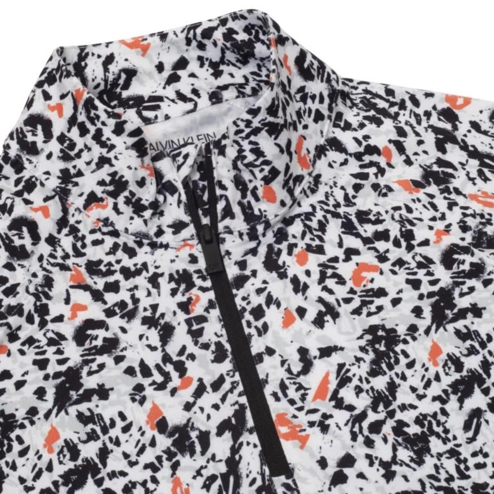 Calvin Klein Calvin Klein Vibe 1/4 Zip Layering Top - Birch Print