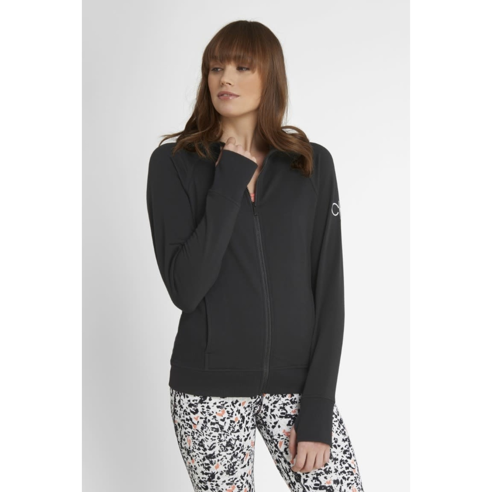 Calvin Klein Calvin Klein Chill Force Full Zip Hoody - Black