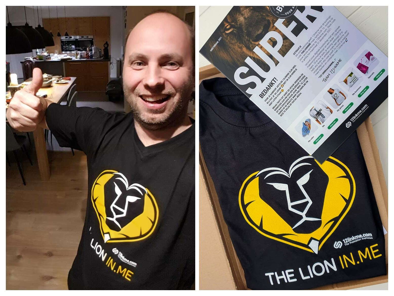 THE LION IN.ME design-T-shirt