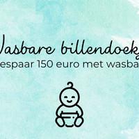 Bespaar €150 met wasbare billendoekjes
