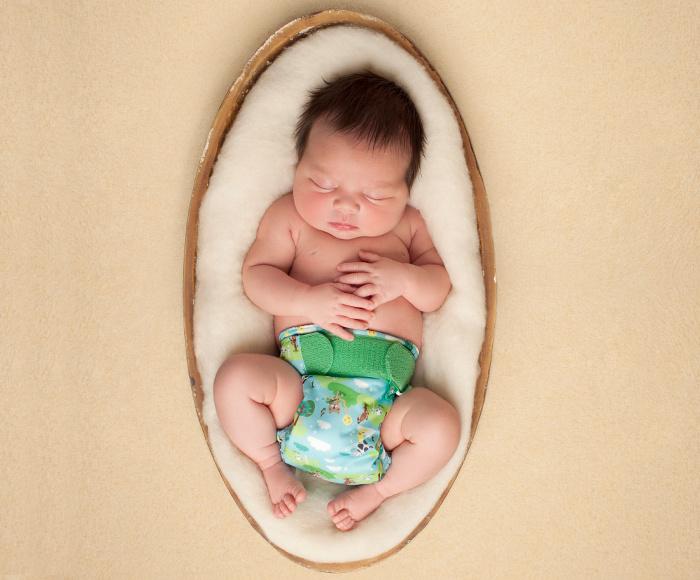 Newborn wasbare luiers