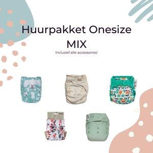 the Green Butt Huurpakket Onesize MIX (>6 kg)