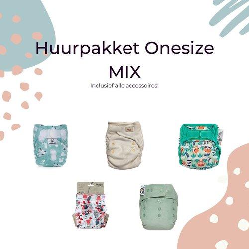 the Green Butt Huurpakket Onesize gemixt