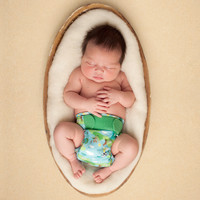 Newborn wasbare luiers: zin of onzin?