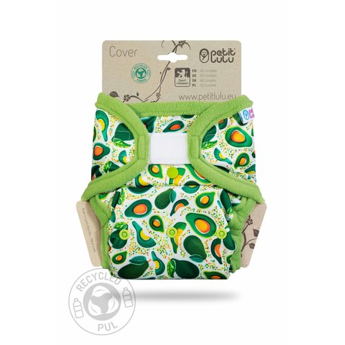 Petit Lulu Overbroekje van recycled PET met zachte randjes