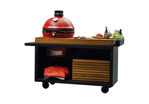 Ofyr Kamado Joe Table Black PRO