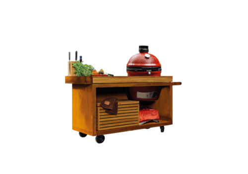 Ofyr Kamado Joe Table Corten PRO