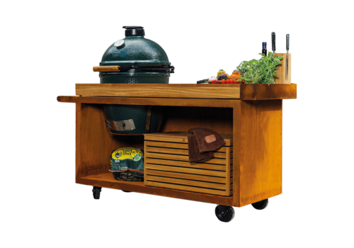 Ofyr Big Green Egg Table Corten PRO