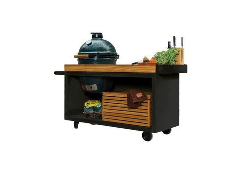 Ofyr Big Green Egg Table Black PRO