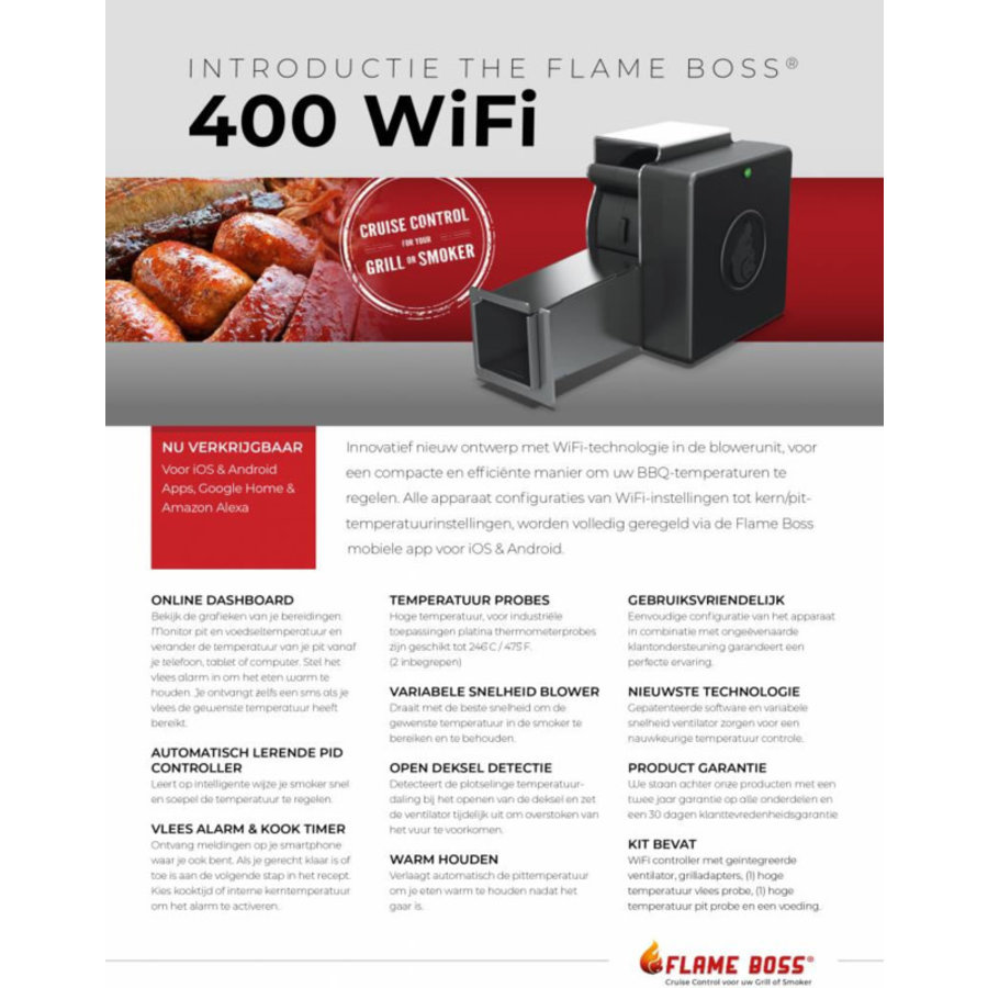 Flame Boss 400 WiFi Temperatuurregelaar-3