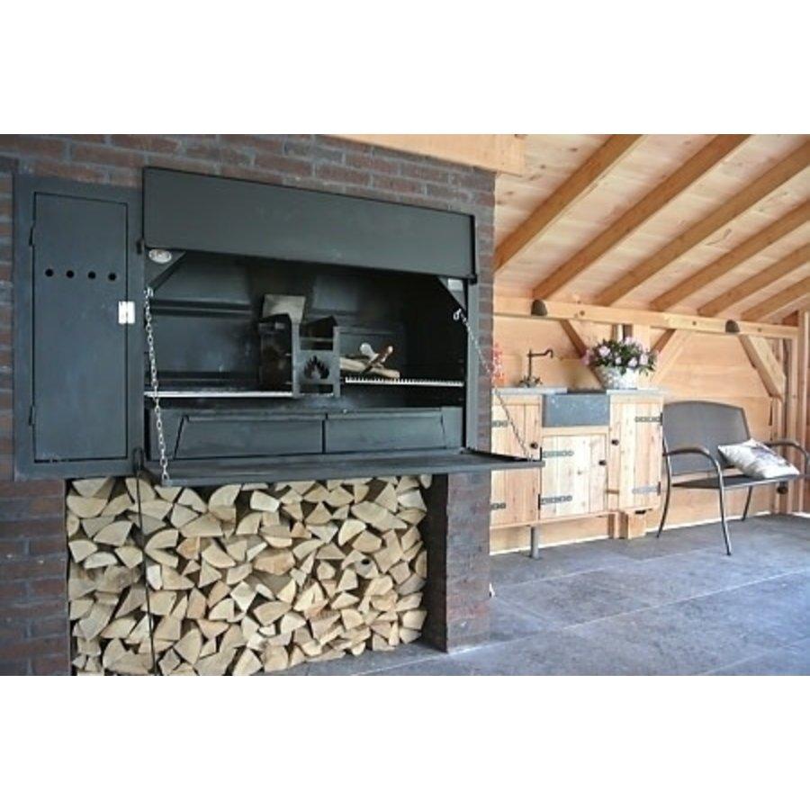 Home Fires Afrikaanse Braai 1000 Inbouwmodel-2