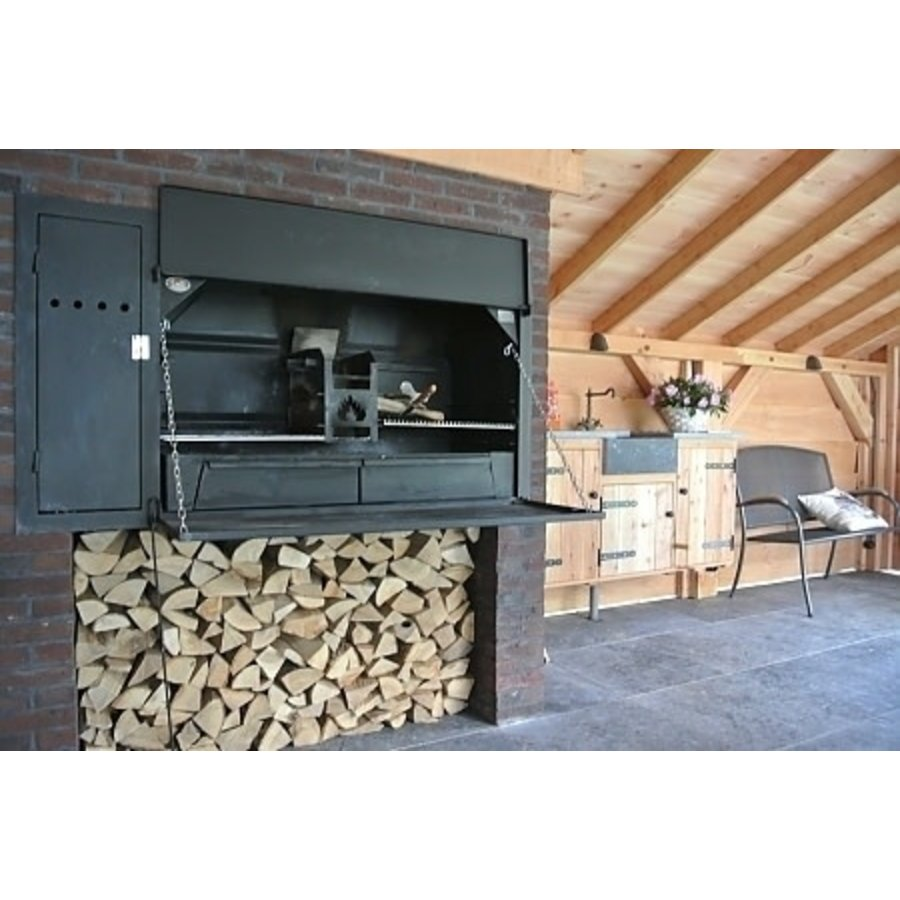Home Fires Suprême de Luxe 1000 Inbouwmodel-2