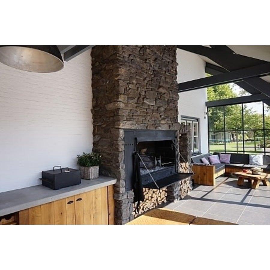 Home Fires Afrikaanse Braai 1500 Spitbraai Inbouwmodel-3