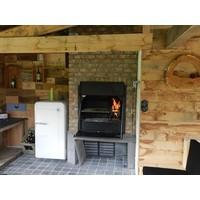 thumb-Home Fires Afrikaanse Braai 800 Inbouwmodel-2