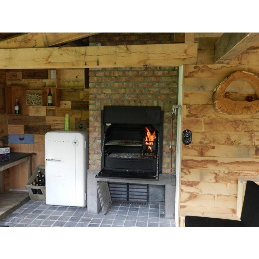 Home Fires Afrikaanse Braai 800 Inbouwmodel-2