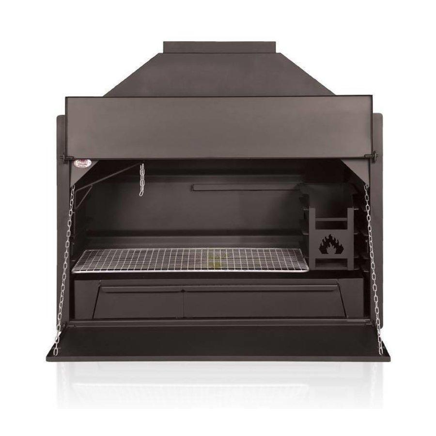 Home Fires Afrikaanse Braai 1000 Inbouwmodel-1