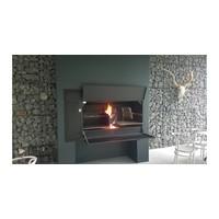 thumb-Home Fires Afrikaanse Braai 1500 Spitbraai Inbouwmodel-4