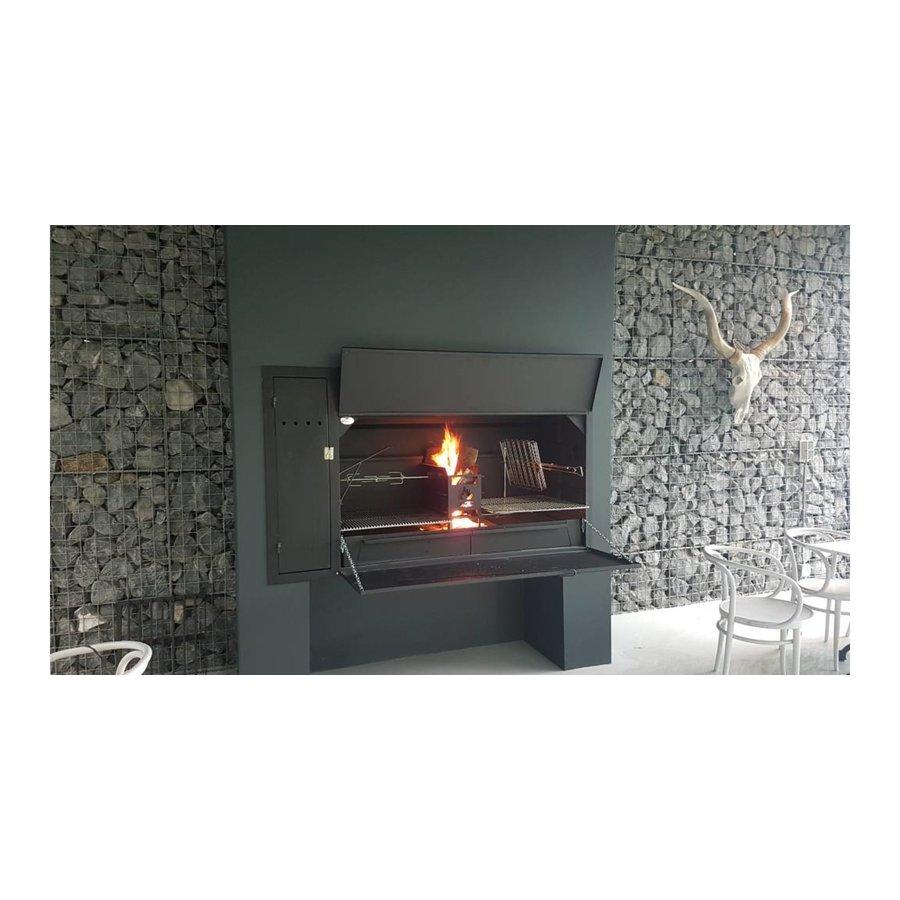 Home Fires Afrikaanse Braai 1500 Spitbraai Inbouwmodel-4