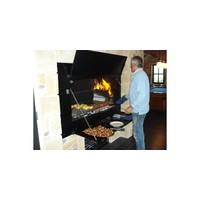 thumb-Home Fires Afrikaanse Braai 1200 Spitbraai Inbouwmodel-4
